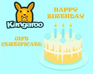 gift certificates kangaroo